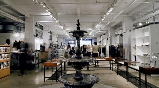 Jeffrey... Jil Sander, Thom Browne, Band of Outsiders, Lanvin... Amazing store in the meatpacking district.