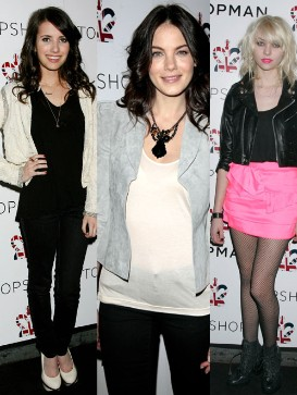 All Wearing Topshop!